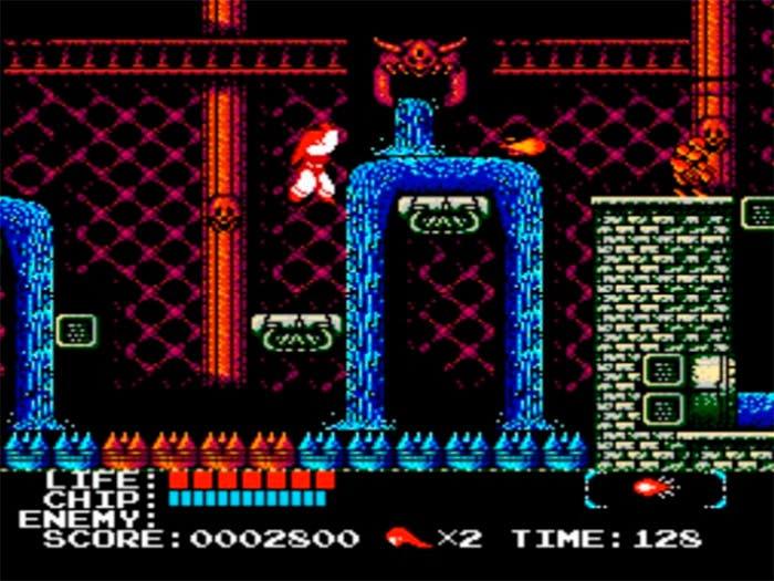 imagen de una fase del Kabuki quantum fighter
