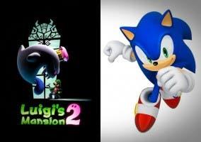 Luigi's Mansion 2 multijugador y nuevo juego de Sonic