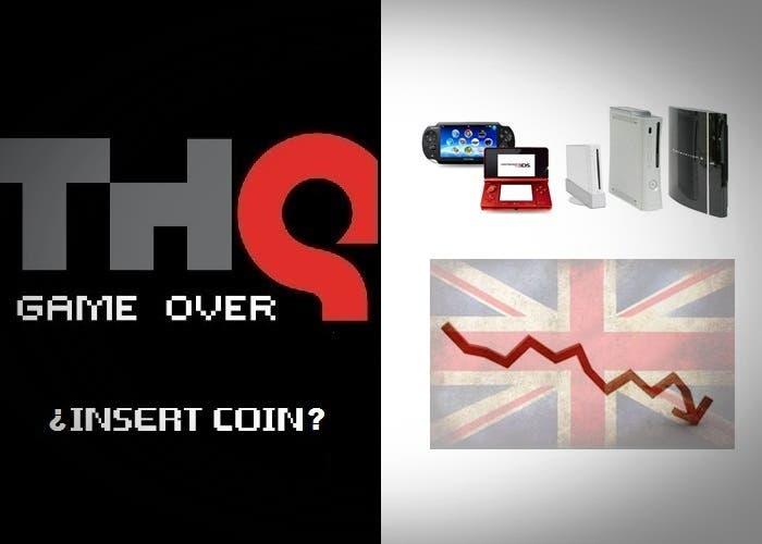 THQ bancarrota y ventas consolas UK