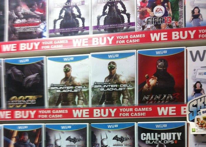 Ventas juegos Wii U