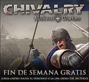 Fin de semana gratuito Chivalry Medieval Warfare