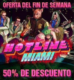 50% descuento en Hotline Miami