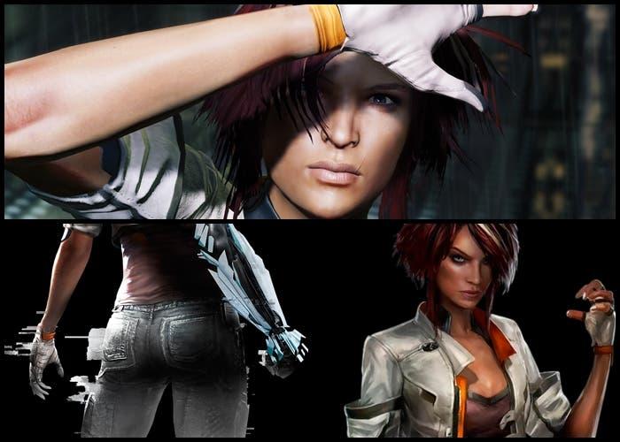 Nilin es la escultural protagonista del juego