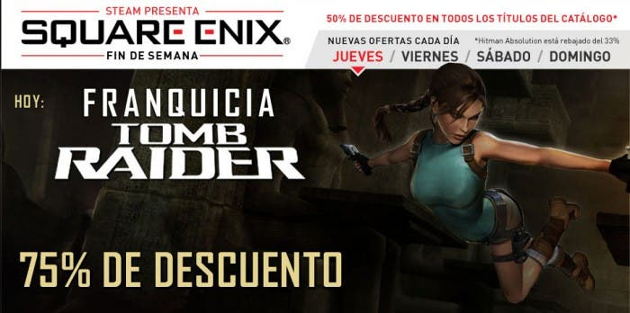 Square-Enix rebajas en Steam