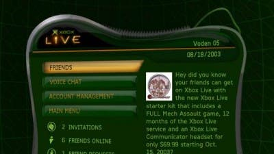 imagen xbox live original