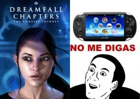 Dreamfall Chapters y PS Vita marketing