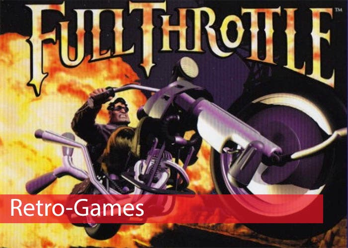 Portada Full Throttle