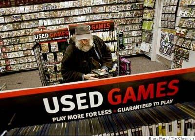 GameStop y sus juegos