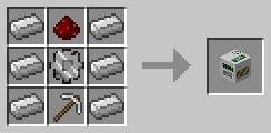 Pozo de minería en Buildcraft