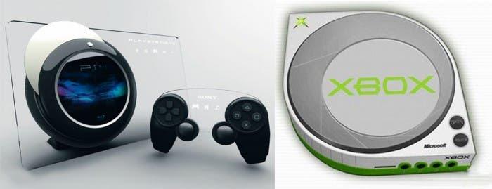 Conceptos PS4 y Xbox 8