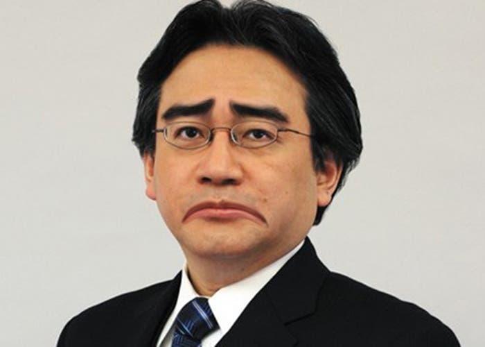 Iwata triste con las ventas