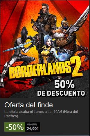 Borderlands 2 a mitad de precio en steam