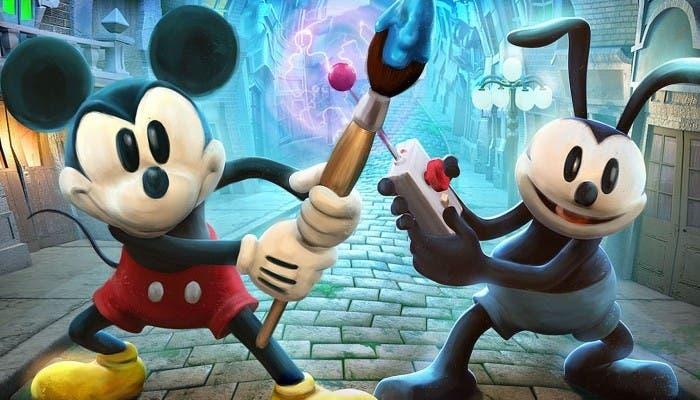 Epic Mickey 2 portada