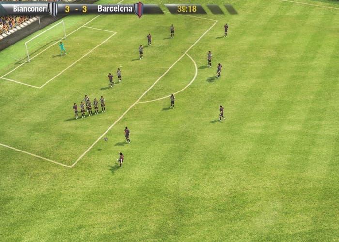 FX Fútbol partido