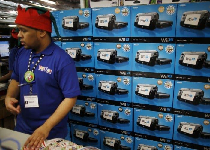 Stock lleno de Wii U en UK