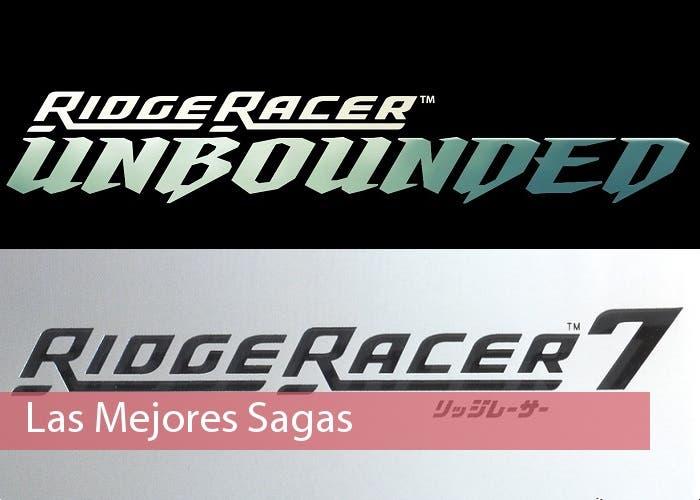 Ridge Racer Saga 5 logo