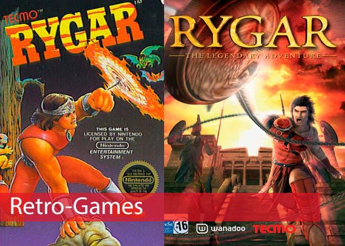 Portada Retro Games Rygar PS2 y NES