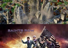 Saints Row 4 y SimCity