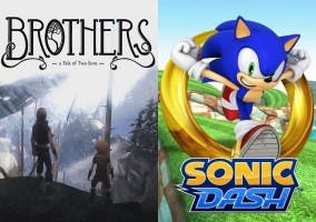 Sonic Dash y Brothers A tale of two sons