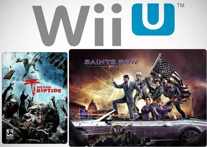 Wii U y los dos juegos