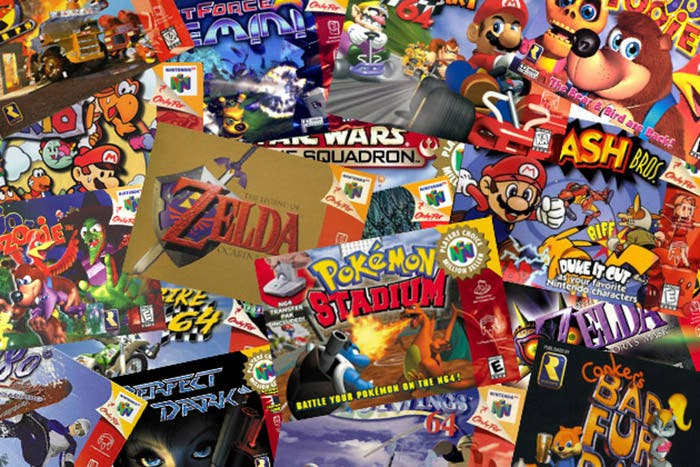 collage juegos n64