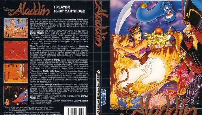 Juego Disney para Mega Drive