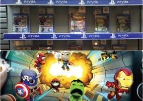 Juegos PS Vita y LittleBigPlanet con Marvel