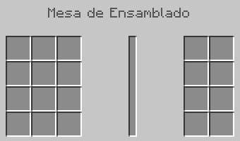 Interfaz mesa de ensamblado en Buildcraft