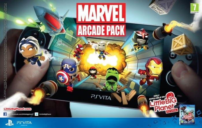 Cartel de Marvel Pack