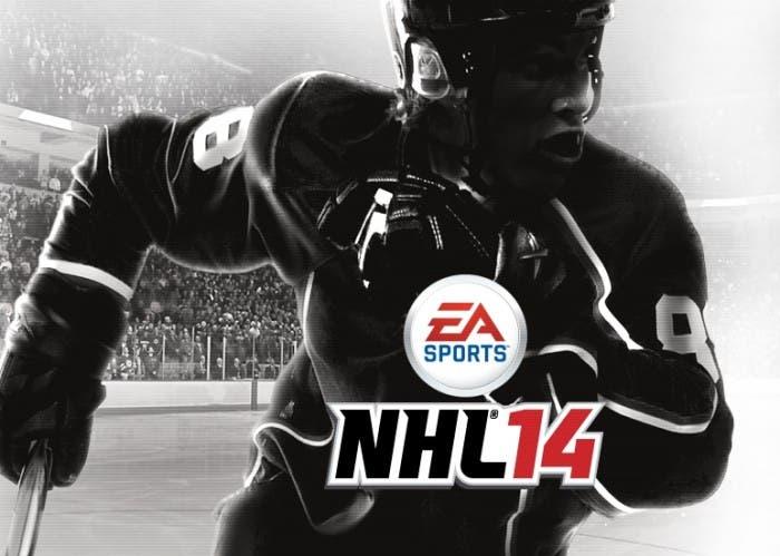 Una de las portadas de NHL 14