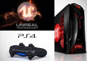 Ambas plataformas y Unreal Engine 4