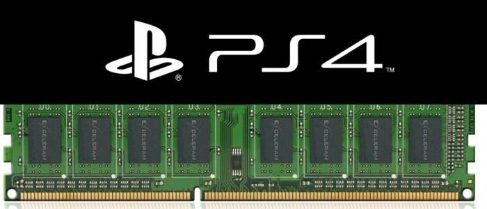 PS4 y memoria RAM