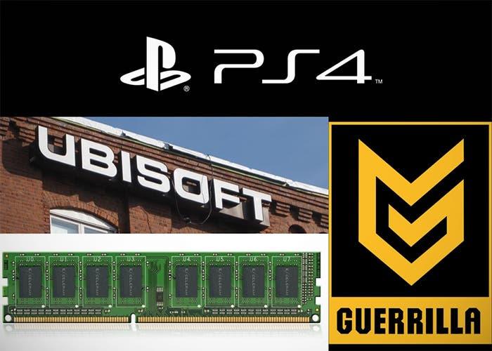 Logos de PS4 y varias compañías