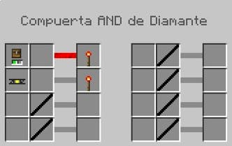 Puerta AND de diamante en Buildcraft