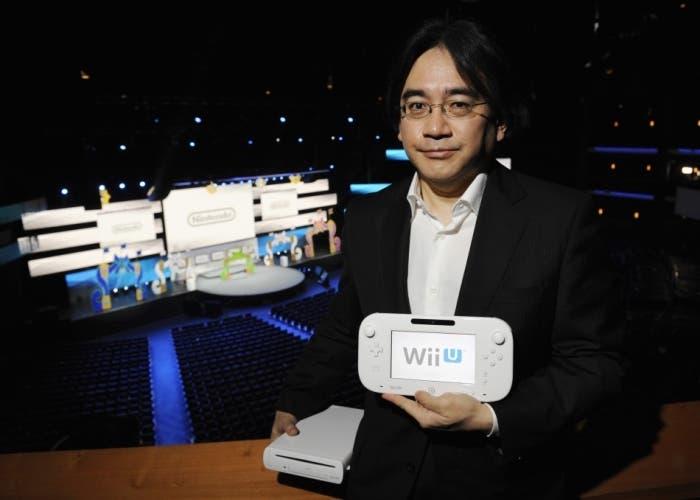 Satoru Iwata Wii U E3