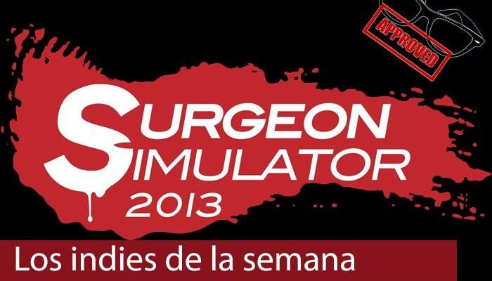 portada indies de la semana de Surgeon Simulator