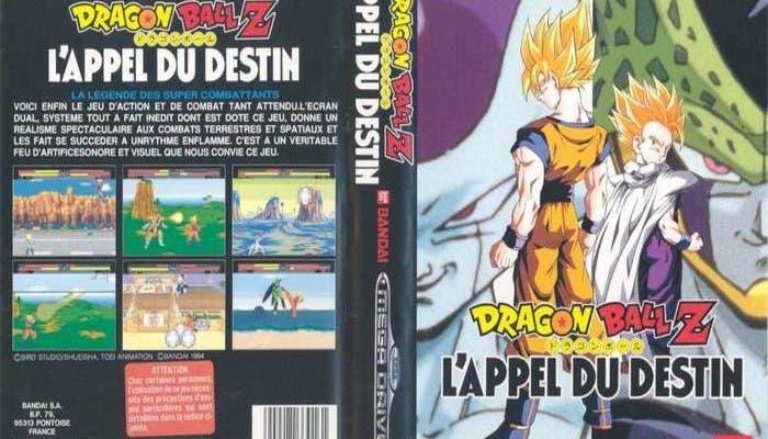 DBZ para SEGA Mega Drive