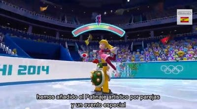 Patinaje en Mario&Sonic