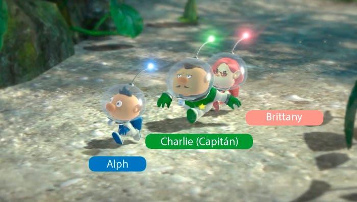 Nintendo Direct Wii U, los tres nuevos personajes de Pikmin 3