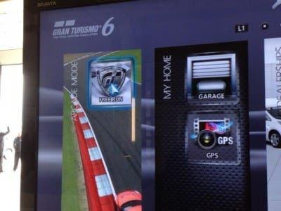 Gran Turismo 6 menú