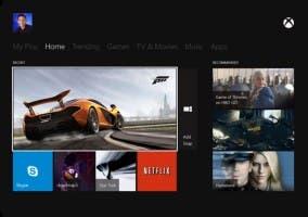 Xbox One con comandos de voz y movimientos