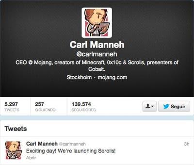 Tweet de Carl Manneh
