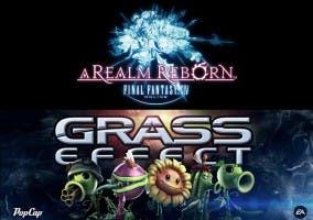 Final Fantasy XIV ARR y Grass Effect