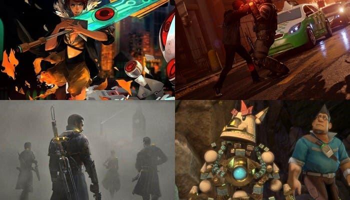 Collage de los 4 juegos