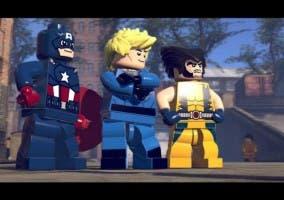 LEGO Marvel Super Heroes Capitan America Lobezno Antorcha humana