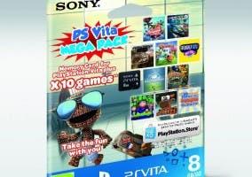 PS Vita mega pack 8GB 10 juegos