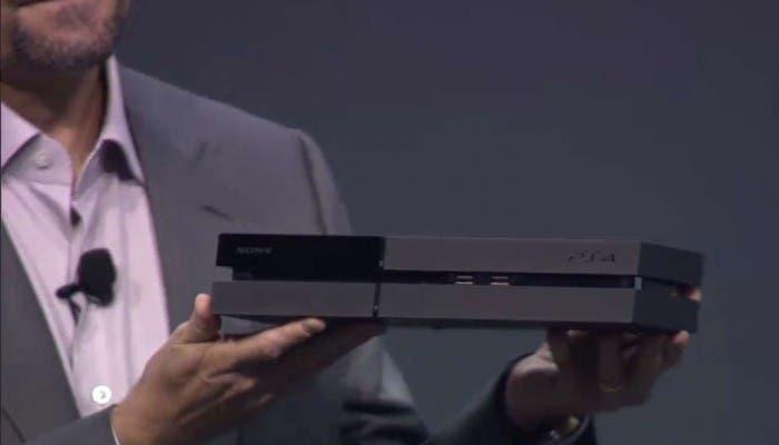 Nuevo diseño de PS4