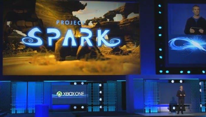 Project Spark en el escenario