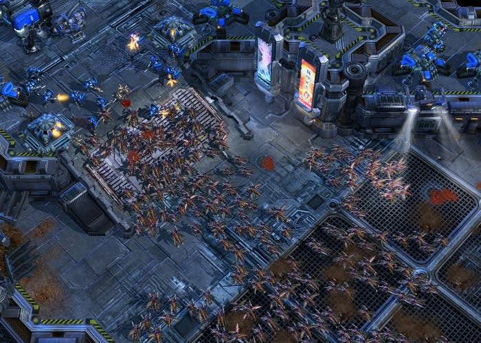 Starcraft 2 terran vs zerg