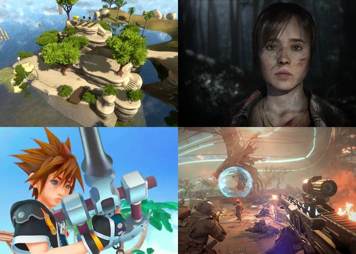 The Witness, KH3, Killzone Shadow Fall y Beyond 2 Souls